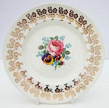 Vintage 1950s Empire Porcelain Golden Bouquet Tea Plate Floral
