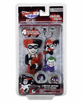 Harley Quinn Limited Edition Gift Set Body Knocker Scalers Earbuds Hubsnap NECA