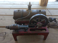 Old Vtg Electric Weeden Steam Engine Model Tanker Toy 40 Volts 3.7 Amp
