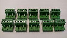 (10)     4 pin - 5.00mm / Quick Speaker Connector Terminal Block - Phoenix Plug