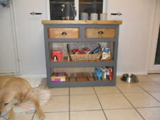 Kitchen Cupboard, with Oak top. Basket included Handmade