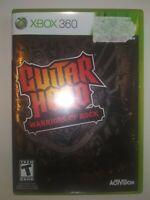 Guitar Hero: Warriors of Rock (Microsoft Xbox 360, 2010) Complete DISC IS GREAT!