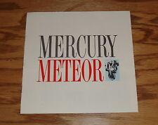 Original 1962 Mercury Meteor Sales Brochure 62 Sedan