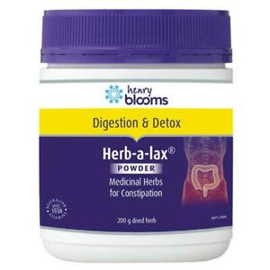 HENRY BLOOMS HERB-A-LAX (HERBALAX) 200G POWDER