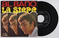"""AL BANO - LA SIEPE / CARO, CARO AMORE 45 giri 7"""" LA VOCE DEL PADRONE MQ2122 1968"""