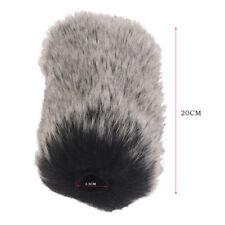 Mikrofon Windschutzscheiben Windschutz Muff für TakstarNAQ7 Kunstpelz Windschutz