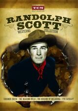 Randolph Scott Westerns 2-Disc 4 Film DVD Collection Coroner Creek/7th Cavalry +