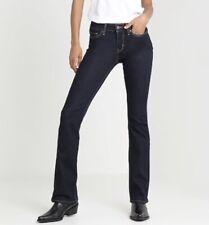 Levi's Dark Blue 715 Boot Cut Jeans -RRP £85
