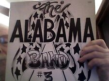 THE ALABAMA BAND #3<>ALABAMA RECORDS ALA78-9-1 ALABAMA 3RD LP<>OOP