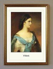 Sisi Sissi Kaiserin von Österreich K&K Monarchie 25 Faksimile im Goldrahmen