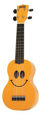 MAHALO U60SM SMILEY FACE SOPRANO UKULELE w/ GIG BAG IN NEW COLOUR BOX SALE