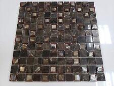 10-Pack Designer Mother of Pearl Mosaic Marble Tile for Kitchen Back Splash