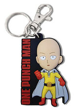 **License** One Punch Man PVC Keychain Caped Baldy SD Regular Saitama #85331