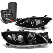 For 2004 2009 Mazda 3 Sedan Blackclear Signal Projector Headlight Lamptool Box Fits Mazda 3