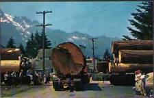 (v0l) Postcard: Logging In The Northwest