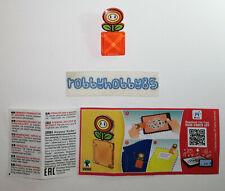 DV562 Blumen-Clip Mit Bpz Ferrero Italien 2020 Kinder Joy Super Mario