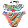 """Maillot de bain 2 pièces Bikini femme """"SAVE THE QUEEN"""" CX11 - taille L Bonnet C"""