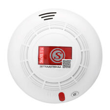 Smoke Detector Fire Alarm Mains Sensor Wireless For Home Office Factory Security