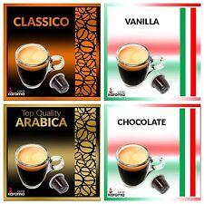 100 Capsules Compatible Nespresso Machines CLASSICO,ARABICA,VANILLA,CHOCOLATE!