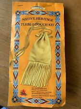 4189-12Tandy Leather Factory - Native Heritage Pueblo Pouch - Purse Kit - NEW!