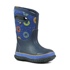 New Bogs Kids Classic Donuts Boots Size 9