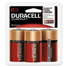 "Duracell Quantum Alkaline ""D"" Batteries - Qud3Rfp"