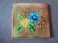 Charming Edwardian Floral Tile  21/42A