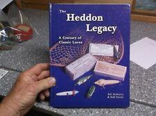 Heddon Legacy fishing lure book bill roberts & rob pavey