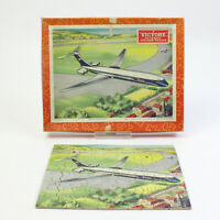 Vintage Victory Wooden Jigsaw Puzzle. Series No: TP2. Complete - VC10 AIRLINER.