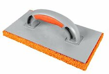 Orange Sponge Float Trowel Soft Rubber Medium Size Holes Rendering Plastering