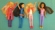 McDonald's Happy Meal Toys  Barbie Dreamhouse 2015 & Spy Squad 2016 set of 4