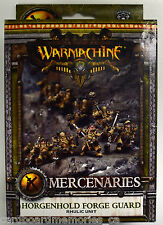 Warmachine Mercenaries Horgenhold Forge Guard Unit PIP 41101 - NEW