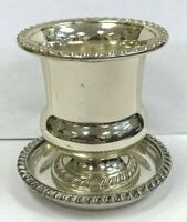 Mueck Cary .925 Sterling Silver Cigarette Urn Toothpick Holder #504 w Extra Base