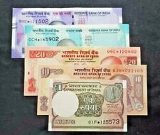INDIA - REPLACEMENT NOTES (STAR NOTES) - 1, 10, 20, 50 and 100   RS NOTES - UNC