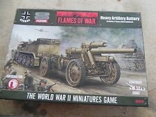 Flames of war   GE X20 Heavy Arty Battery 150mm
