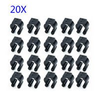 20x Fishing Rod Clip Club Pole Storage Rack Clamps Holder Accessories For Fisher