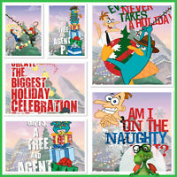 Disney Collect Topps Digital Phineas & Ferb - Holiday Cards & Award