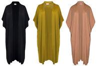 New Womens Short Batwing Sleeve Ladies Long Dip Hem Open Cardigan Shrug Top