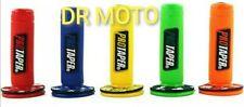 2x Manopola PRO TAPER manubrio Motocross Pit Bike Motard manopole 7/8 universale