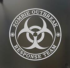 Zombie Outbreak Response Team sticker walking dead jeep car wrangler Apocalypse