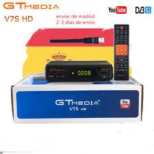 FTA Gtmedia V7S+WIFIHD DVB-S2 Satellite Receiver Decoder 1080P Support Bisskey