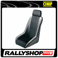 OMP CLASSIC vintage velour vinyl Seat Black CHEAP DELIVERY Old school TIMER