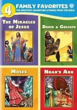 4 Family Favorites Greatest Adventures of The Bible - DVD Region 1 FR