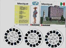GAF VIEW MASTER : MEXIQUE (Nations du Monde 17) - 3 disques/reels  B 011