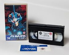 The Guyver Data 1 VHS Tape Boxed UK PAL with stickers