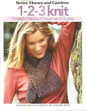 Leisure Arts Knitting 123 Knit Project Packed Beginner's Guide  B106