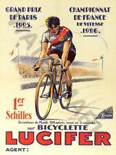 LUCIFERO cicli GRAND PRIX Stampa Poster Artistico solo hp3755