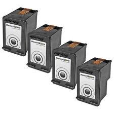 4Pk for HP CC640WN Ink Cartridge for HP 60 Black Deskjet d2560 d2566 f2430 f4288