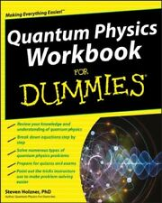Quantum Physics Workbook for Dummies, Paperback by Holzner, Steven, Like New ...