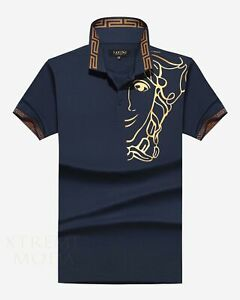 slim fit  polo shirt  P-1929 Navy
